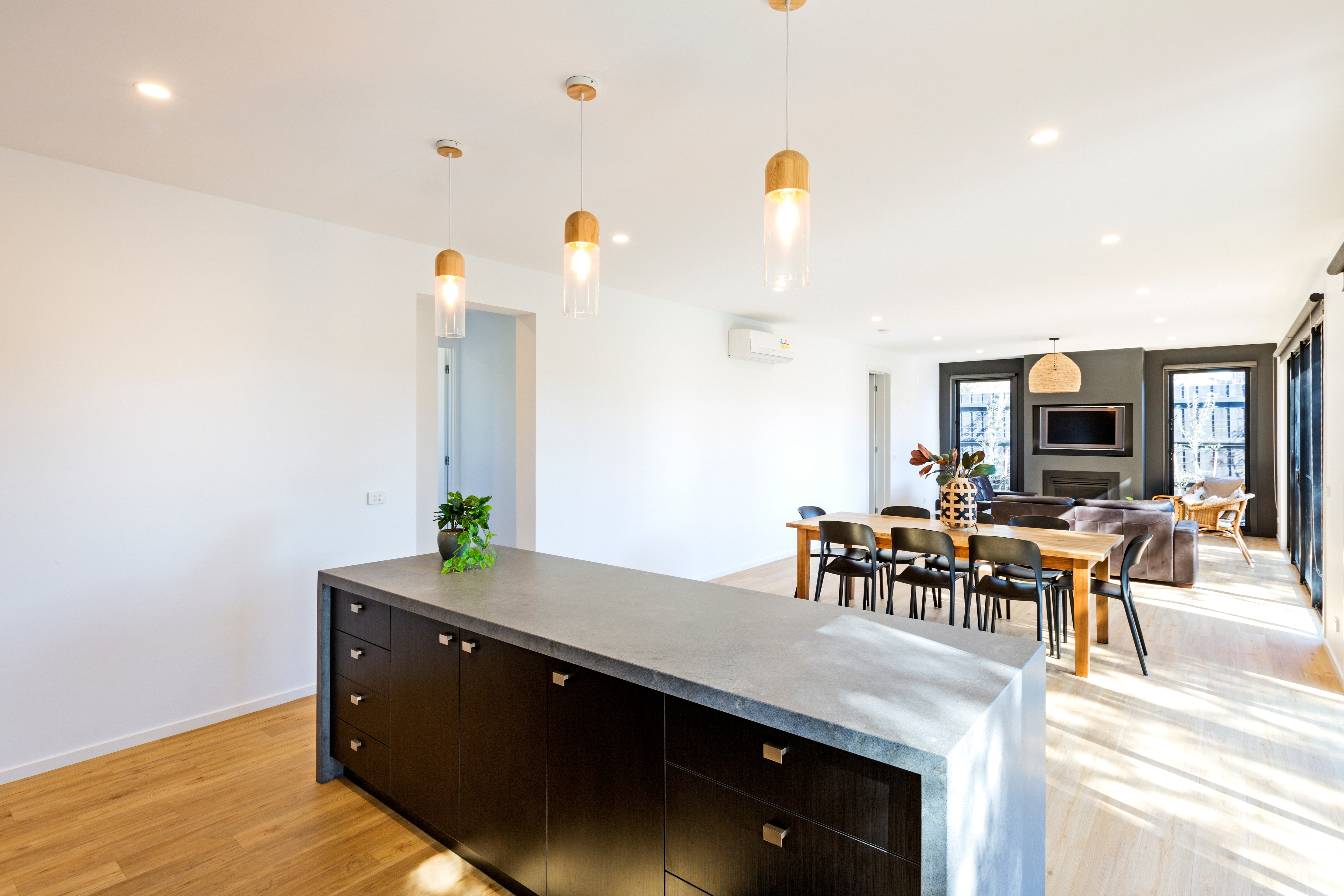 Project focus - rye kitchen and living