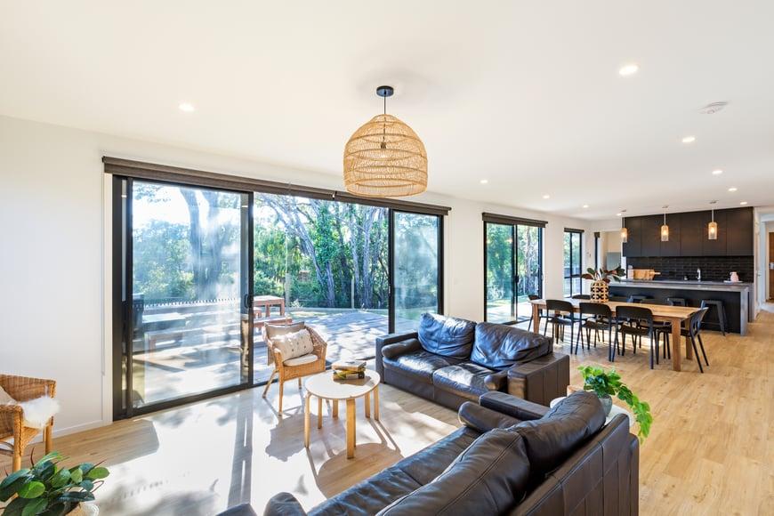 Project focus - rye living area doors
