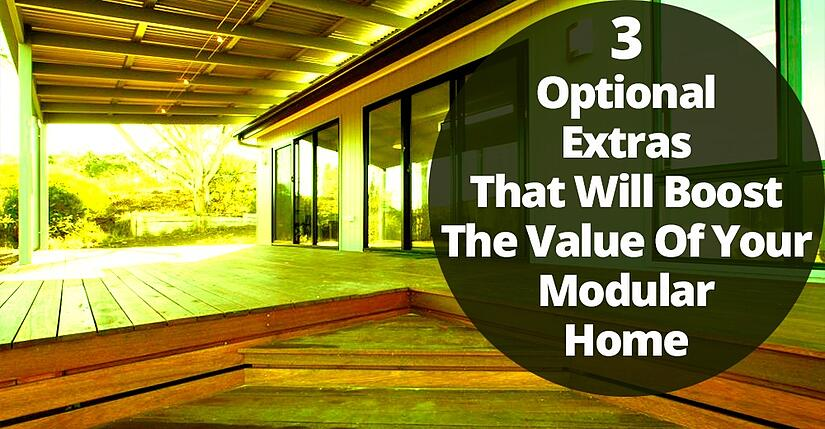 3 optional extras that will boost the value of your - Modular home resale value ...