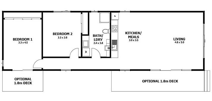 Holiday Builders Floor Plans: 5 Best Modular Holiday Home Designs