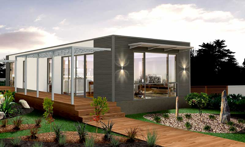 modular homes design. The Beaumauris Modular Home Design Is A 2 Bedroom  1 Bathroom That S Perfect For Holiday Thanks To It Large Open Plan Living Area 4 Best Two Bedroom Modular Homes