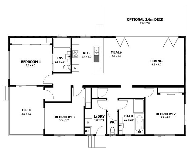 5 best modular holiday home designs for Holiday house plans