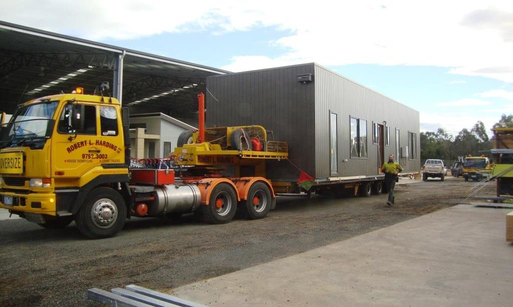 how to move a modular home