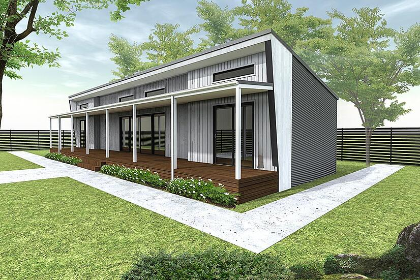 excellent modular home design. The Brooklyn modular home design is a 3 bedroom  1 bathroom one of our most affordable designs with base price less than Best Three Bedroom Modular Homes