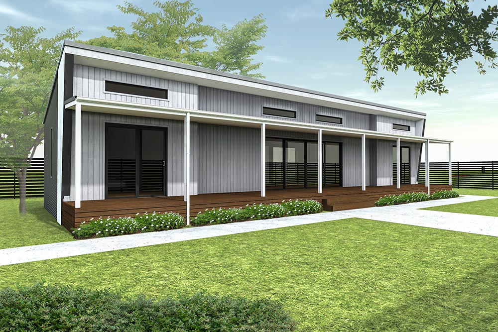 The brooklyn modular home design is a 3 bedroom 1 bathroom design the brooklyn is one of our most affordable designs with a base price of less than