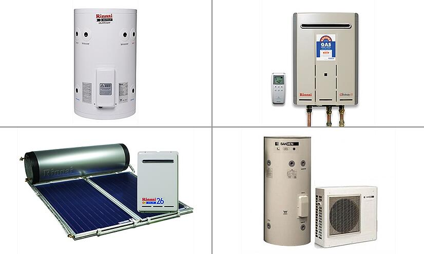 How to choose the best hot water system for your new for The best heating system for home