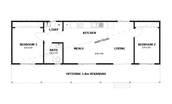 Best Modular Granny Flat Designs - Granny flat 2 bedroom designs
