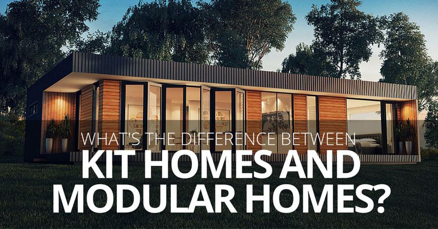 100 kit homes vs traditional construction kit homes Modular home vs regular home
